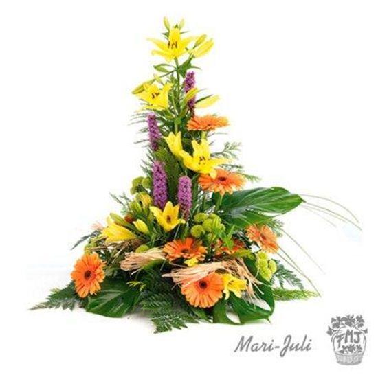 Imagen de Ref.FMJ1004.Centro de flor variada.