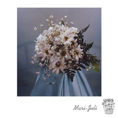Ref.FMJ0059.Ramo de Novia Bouquet en tonos blancos.