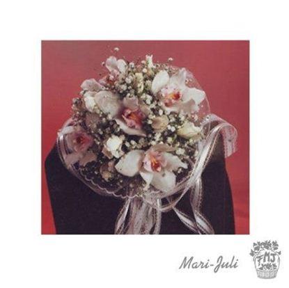 Ref.FMJ0065.Ramo de Novia Bouquet en tonos rosas y blancos
